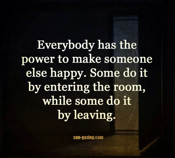 Everyone can make others happy