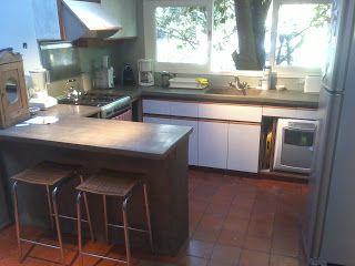 Muebles de cemento ligero t cnica especial y secreta for Muebles de cocina argentina