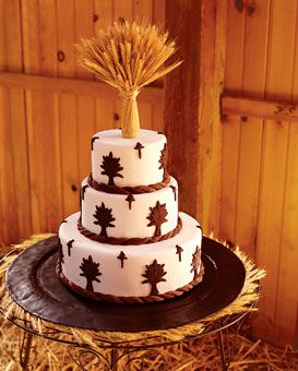 Brides: Rustic Wedding Style :