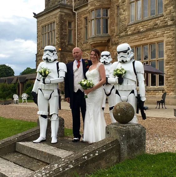 "501st Legion on Twitter: ""RT @Scott_Worboys: Stormtrooper bridesmaids? I'm sure Lord Vader would approve. @ukgarrison @501stLegion https://t.co/Bi0mDIYCkU"""