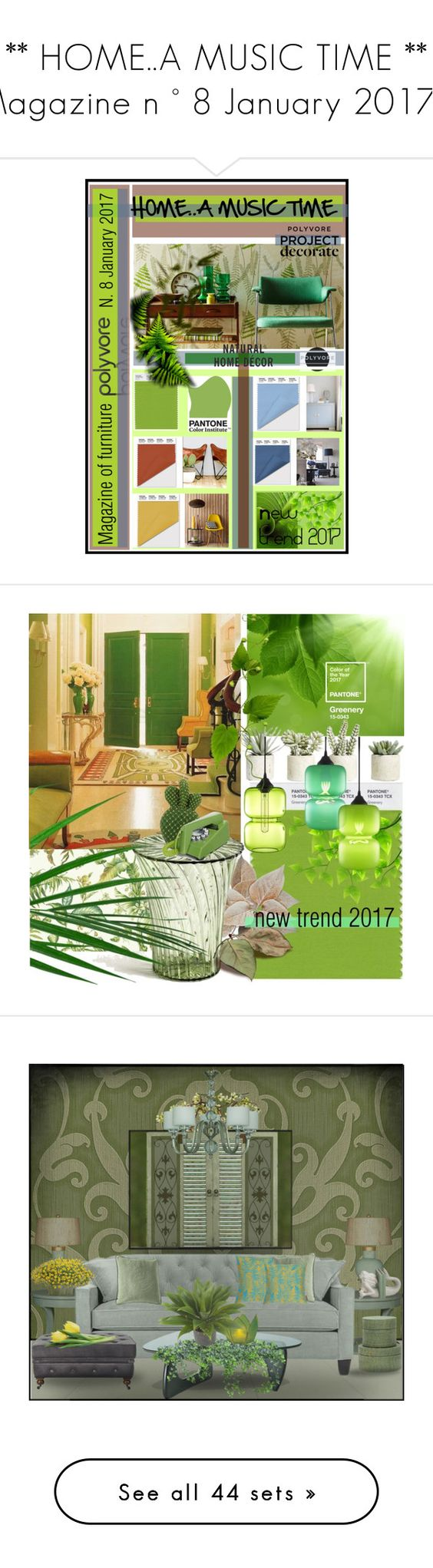 Home decor collage from january 2017 featuring currey company - A Music Time Magazine N 8 January By Nicolevalents Liked On Polyvore Featuring Interior Interiors Interior Design Home Home Decor