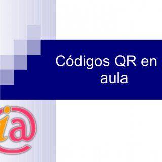 Códigos QR en el aula   ¿Qué son los códigos QR? Una forma rápida y cómoda para acceder desde el teléfono móvil a un lugar de la red.  Una forma de unir e. http://slidehot.com/resources/codigos-qr-en-el-aula.14966/