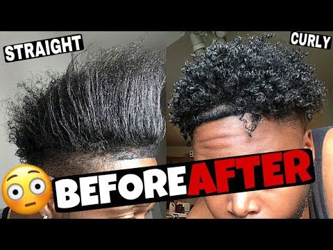 Men Hair Care How To Get Curly Hair With Cantu Shea Butter