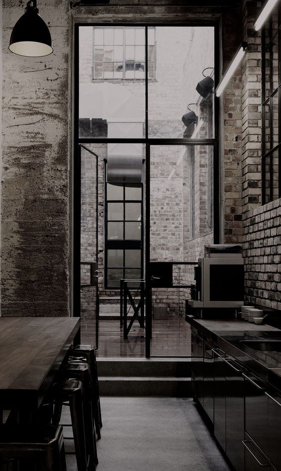 50 flawless examples of industrial inspired interior for New york loft interior design