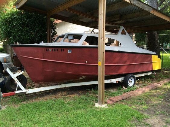 1965 Lone Star 22 ft Cabin  When we found it,