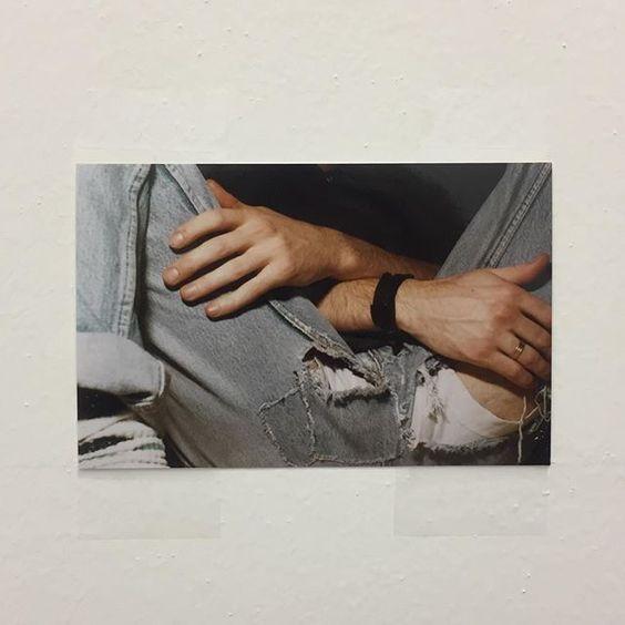 Wolfgang Tillmans' first exhibition at Buchholz Gallery, Cologne 1993 recreated. #wolfgangtillmans #friezeartfair