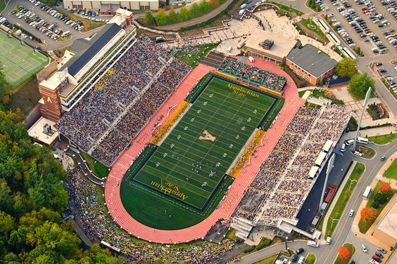 Kidd Brewer Stadium - Appalachian State Mountaineers (GO NEERS)
