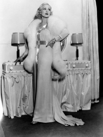 Ann Sothern 1934 - just the epitome of Hollywood glamour with platinum...everything!