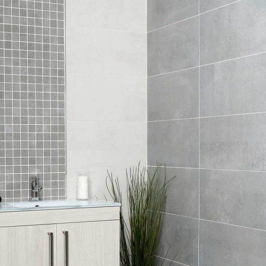 Purity Grey Porcelain Tile 300x600mm In 2019 Bathroom