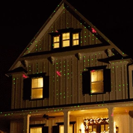 Turn your home into a Christmas light show with this motion laser
