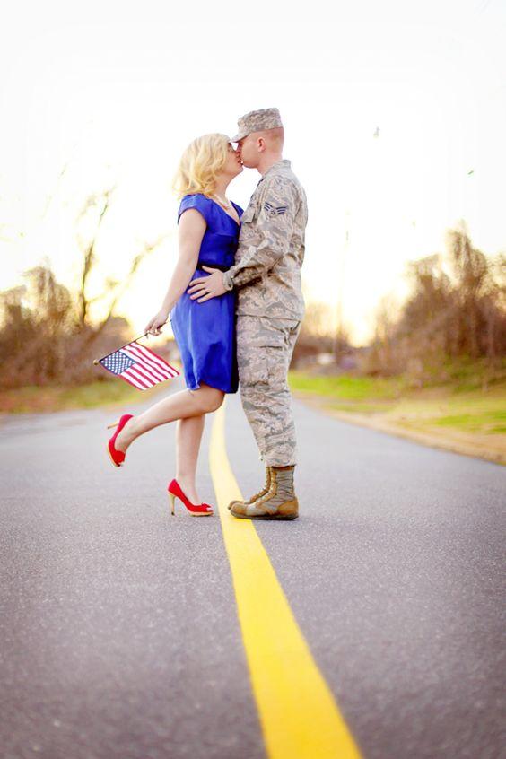 Military Love. Murica.