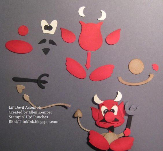 Blinkin', Thinkin', & Inkin': Oh you Little Devil!