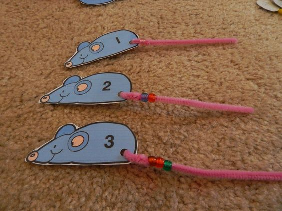 Counting Activity to Go With Book, Mouse Count by Ellen Stoll Walsh (from Living Worlds Apart)