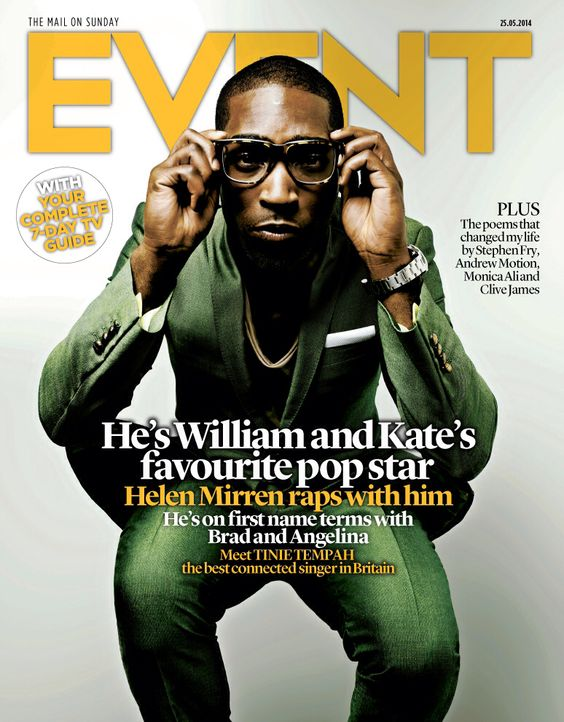 #TinieTempah May 25 2014  #EventCover