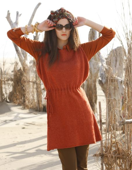Abalone sweater dress :: favorite for fall
