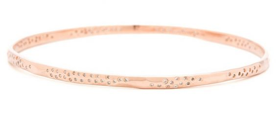 Gorjana rose gold bangle. Very Alexis Bittar but way more affordable