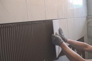 Wandfliesen Verlegen Fliesen Wand Verputzen Und Wandfliesen
