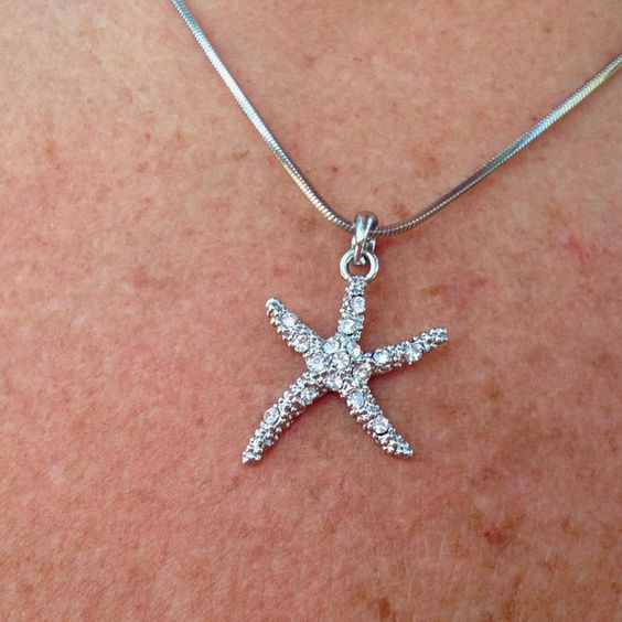 Starfish necklace from Marco island