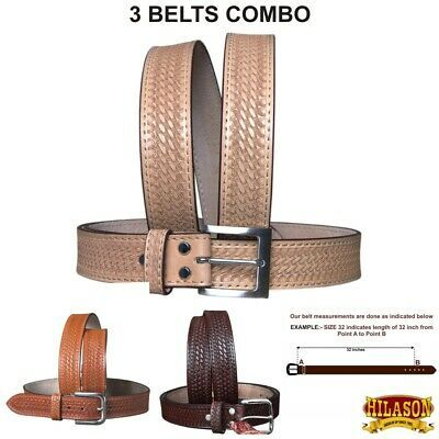 "C-3-40 U-Hilason  Concealed Carry Leather Stitched Gun Holster Belt 40/"""