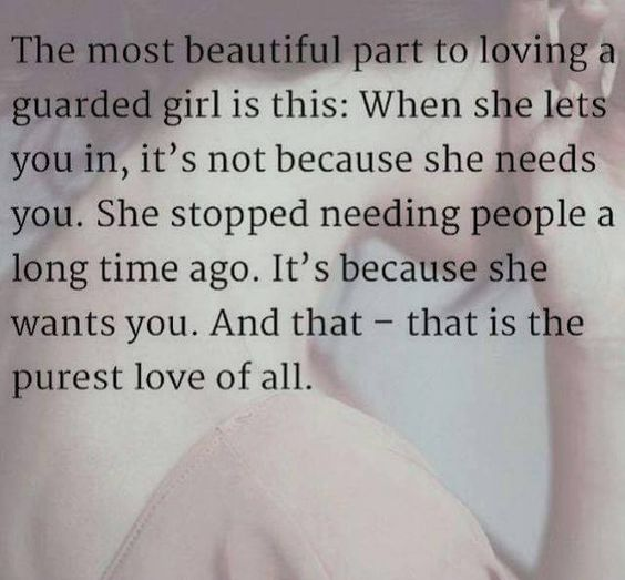 Guarded Girl