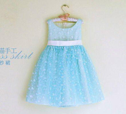 Como hacer un vestido bonito para niñas02