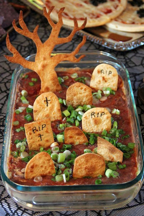 These Wickedly Easy Halloween Appetizers Will Get The Party Started Halloween Appetizers Easy Kids Halloween Food Halloween Food For Party