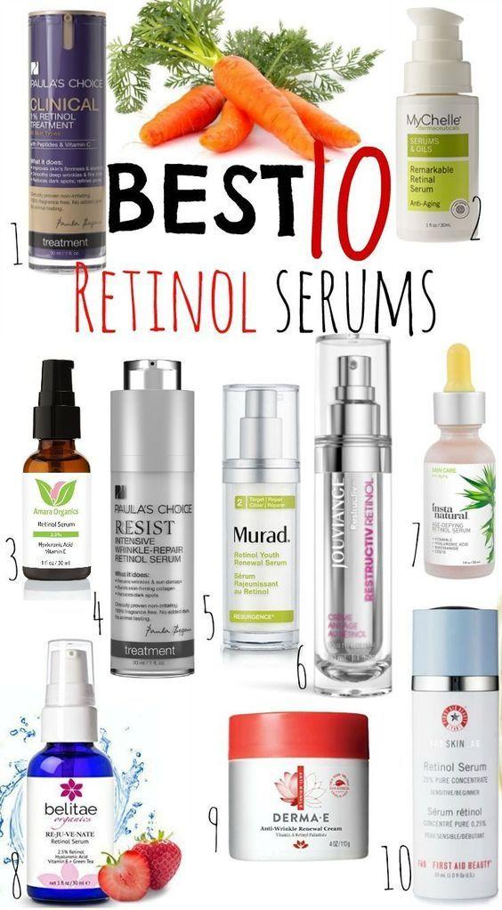 Best Retinol Serums Retinol Serum Anti Aging Skin Products Aging Skin Care