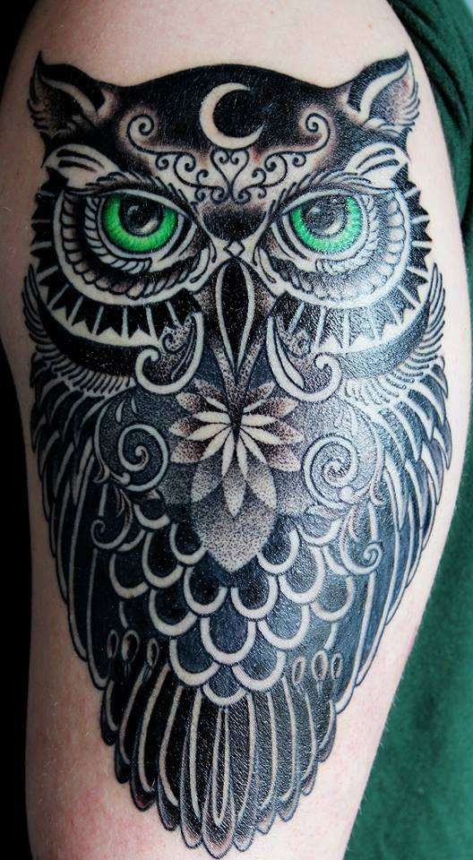 Owl Tattoo Cover Up Ideas