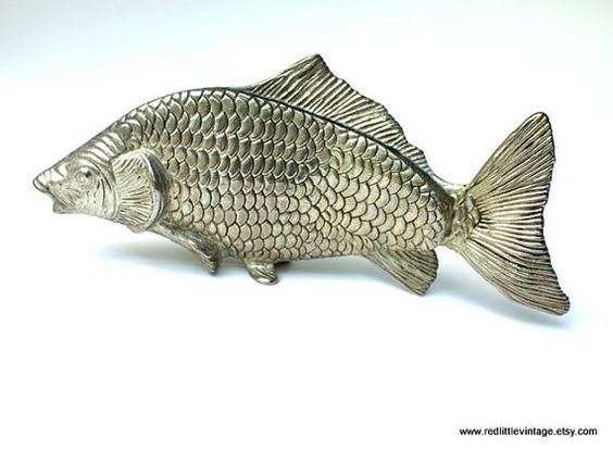 Carp silver and fish on pinterest for Decorative carp