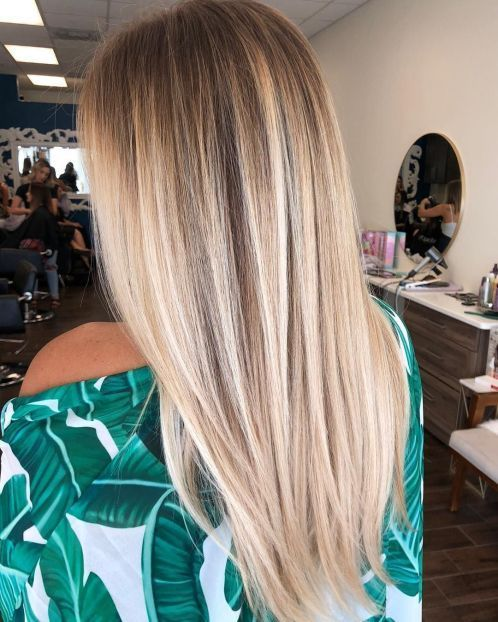 64 Stylish Ombre Straight Hair Styles Cool Hair Color Straight Hairstyles Balayage Straight Hair