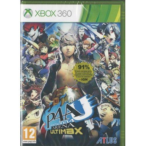 Xbox 360 Persona 4 Arena: Ultimax Edition BRAND NEW
