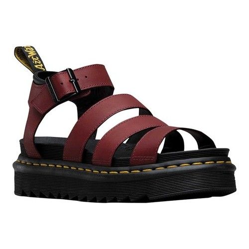 Dr. Martens Blaire Strappy Sandal in 2020 | Leather sandals