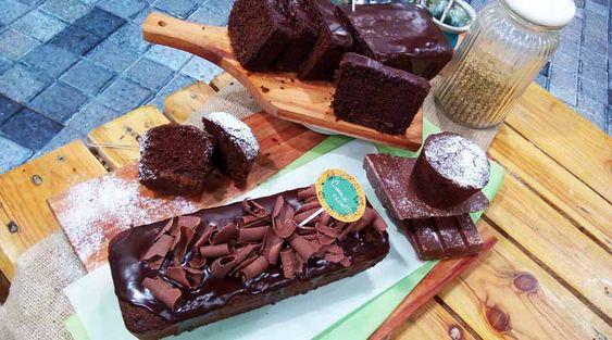 Budín de chocolate y lentejas