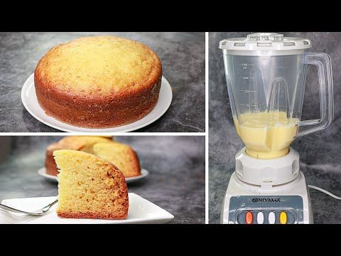 Sponge Cake In Blender | Vanilla Sponge Cake Recipe Without Oven | Yummy -  YouTube in 2020 | Cake recipes without oven, Sponge cake recipes, Cake  blender