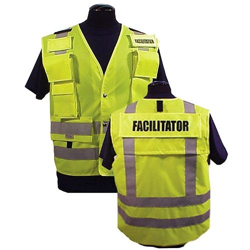 9799 Prou0027s Choice ANSI 107 \/ 207 Incident Command Vest - Lime - incident facilitator resume
