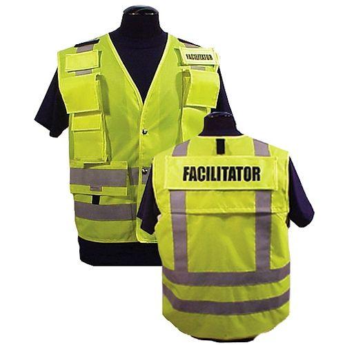 9799 Prou0027s Choice ANSI 107   207 Incident Command Vest - Lime - incident facilitator resume