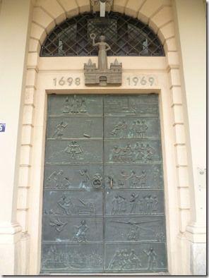 Puerta de la alcaldía de Magdeburgo