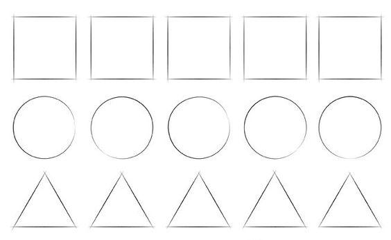 Những bài tập vẽ hình khối cơ bản