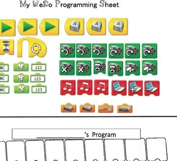 Free:I finally got a little time to update the WeDo Programming sheet!  I am excited about this!  I am also working on cleaning up some of the other documents that we use in our classroom robotics and in our afterschool robotics programs.Please let me know what you think and any changes that I should make as you use this.: