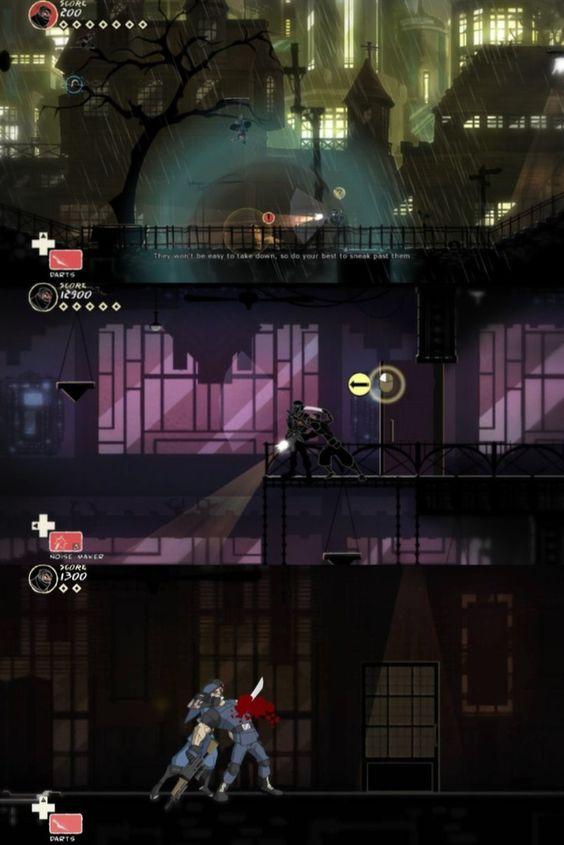 Mark of the Ninja Game Screenshots