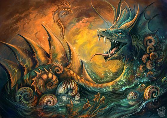 dominoll:     Personal artwork, just love dragons,... - Dragon Inspiration