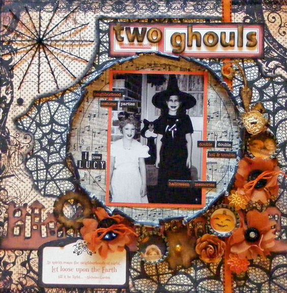 TWO GHOULS - Scrapbook.com