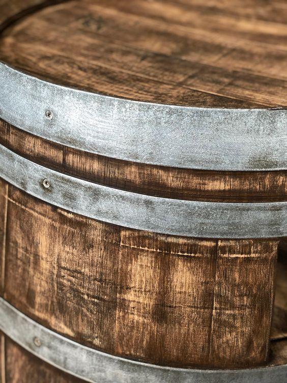 Weinfass Couchtisch Mit Einlegeboden Whiskyfass Optik Weinfass Whisky Fass Fass