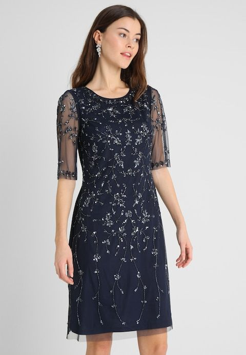 Anna Field Cocktailkleid Festliches Kleid Dark Blue Zalando At Festliches Kleid Cocktailkleid Lassiges Kleid