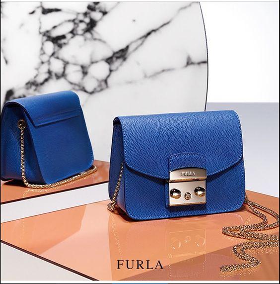 Un mini-sac coloré (Furla - Modèle Metropolis):