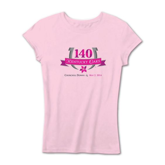 One of the many new ladies Kentucky Oaks tops! Available online at DerbyTraditions.com