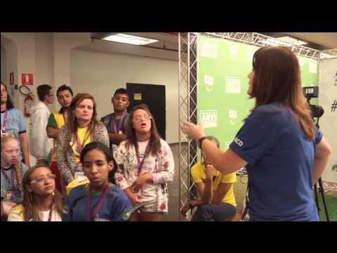 ABCD nas Paralimpíadas Escolares 2014Ação Educativa antidopagem - Paralimpíadas Escolares 2014! Anti-doping Education Program - Paralympic School Games 2014!