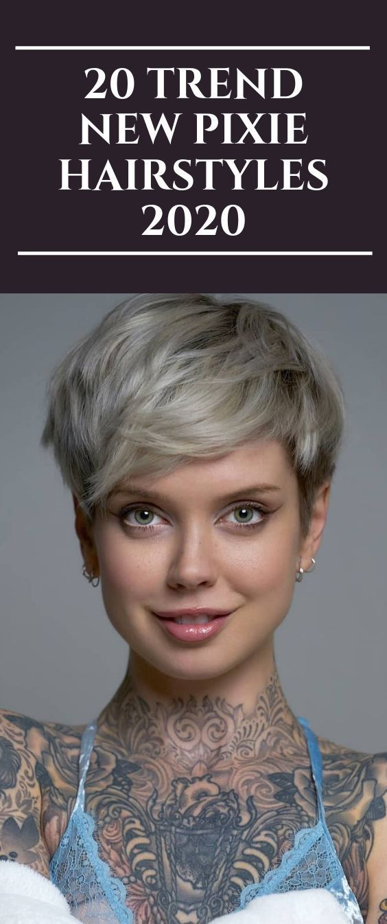 20 Trend New Pixie Hairstyles 2020 Pixiehairstyles Pixiecut Shorthair Hairstyles Short Hair Trends Pixie Hairstyles Thick Hair Styles