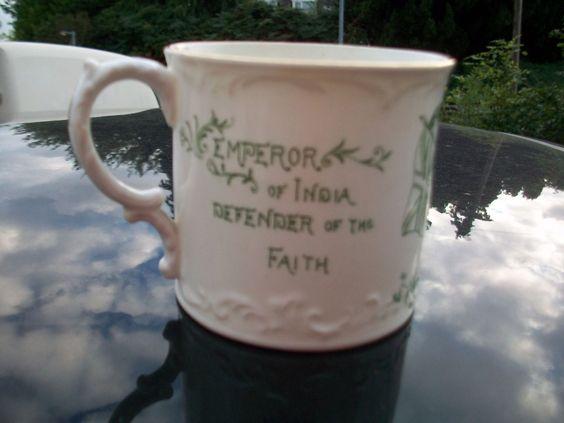 Royal Commemorative Aynsley Mug with William Whiteley Ltd, London | eBay