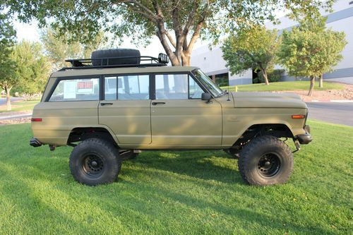 1984 Jeep Grand Wagoneer 4x4 Custom Lift And Paint Image 4 Jeep